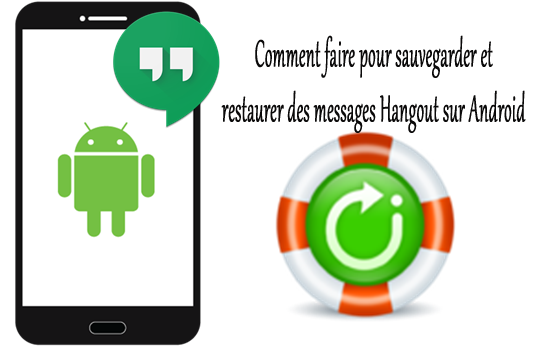 comment faire pour sauvegarder et restaurer des messages hangout sur android android donn es. Black Bedroom Furniture Sets. Home Design Ideas